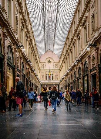 Les Galeries Royales Saint-Hubert Brussels, Belgium