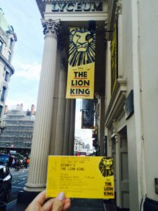 Lion King, London