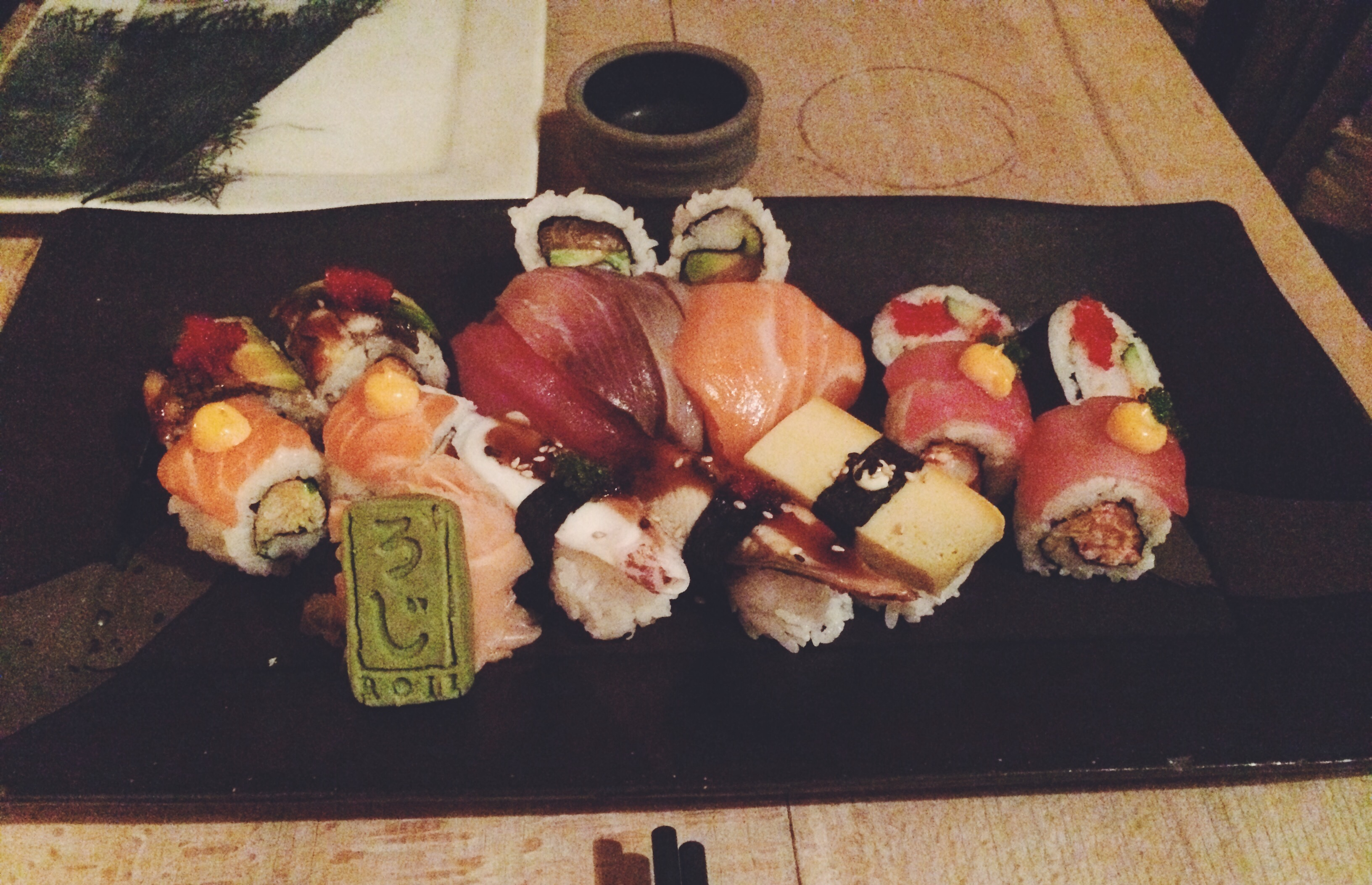 French-Japanese sushi fusion