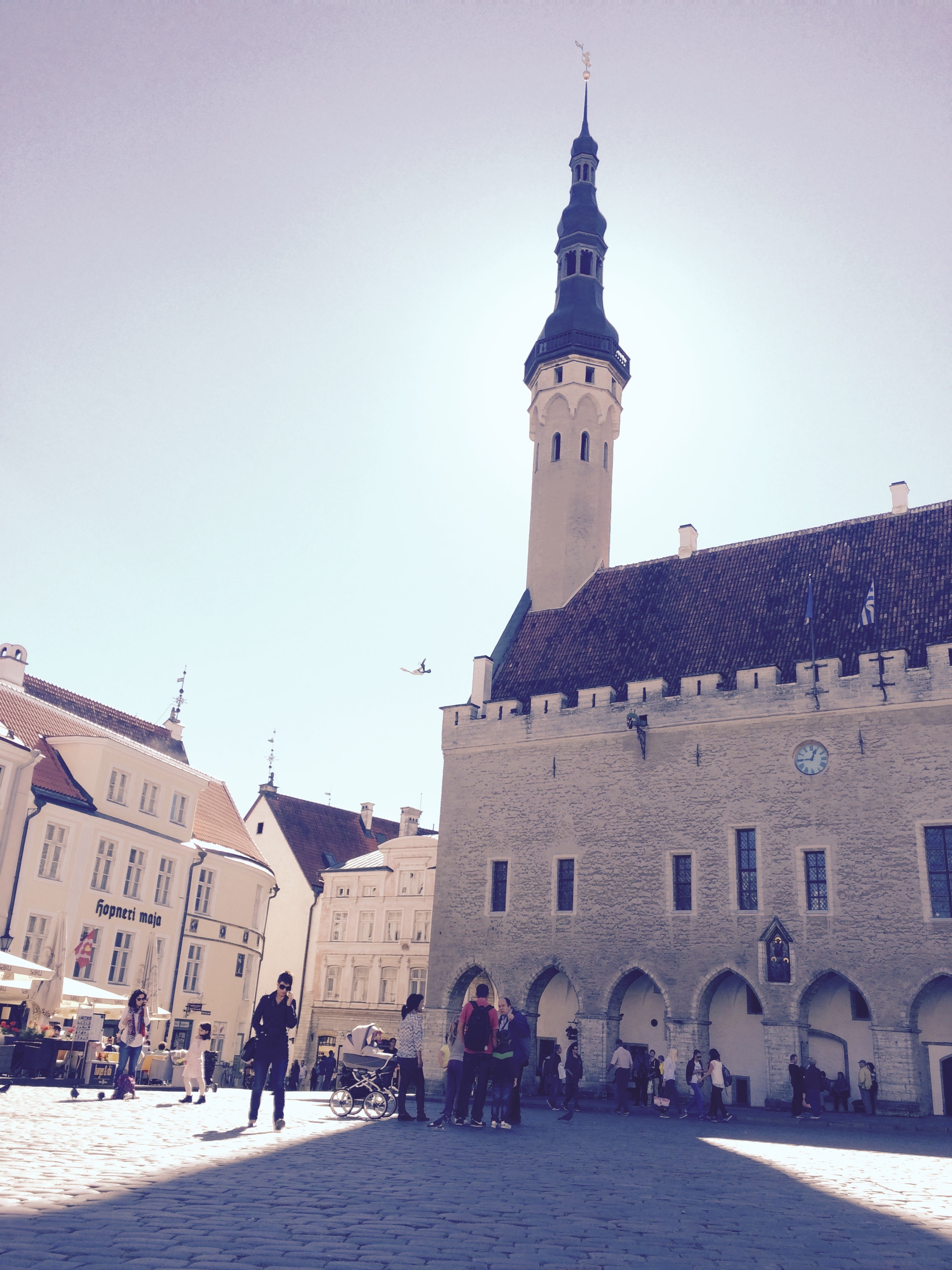Tallinn Town Hall Square, Estonia