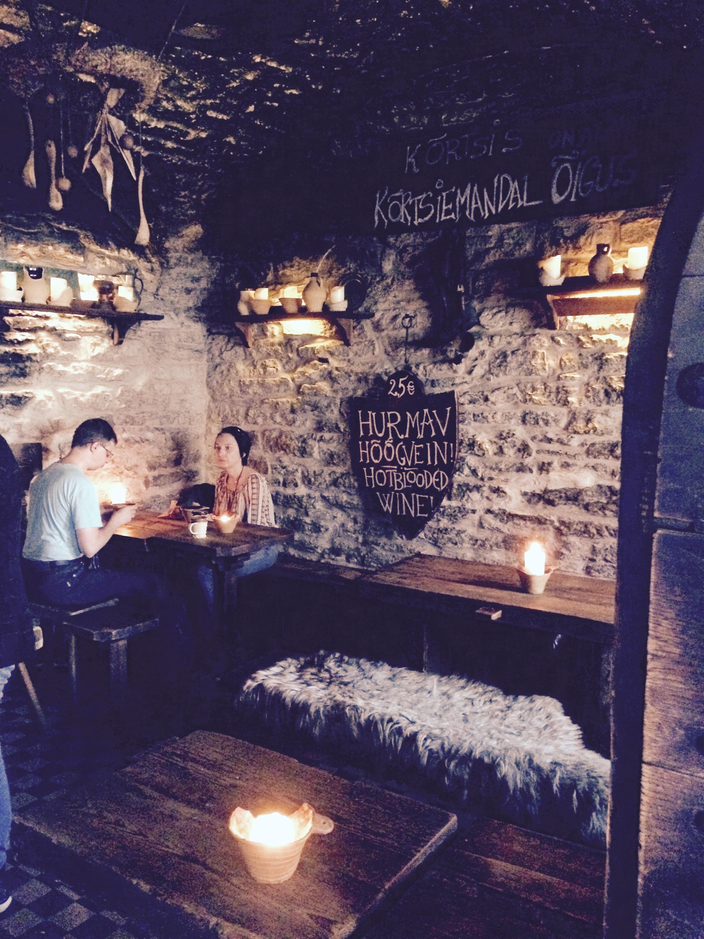 III Draakon - Medieval Pub in Tallinn, Estonia
