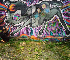Graffiti Street, Tallinn