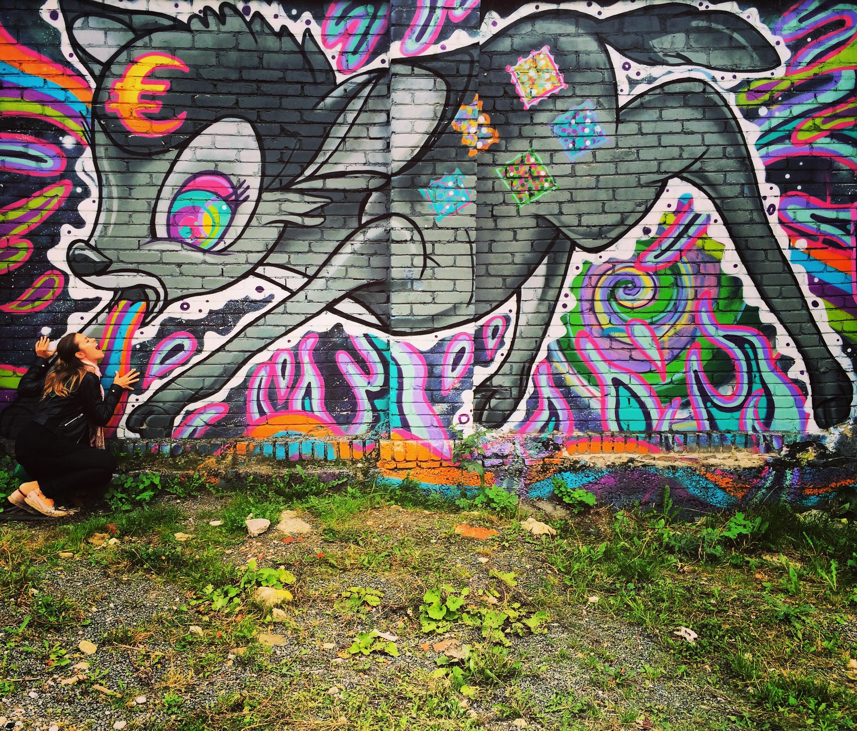 Cool Graffiti art in Tallinn, Estonia