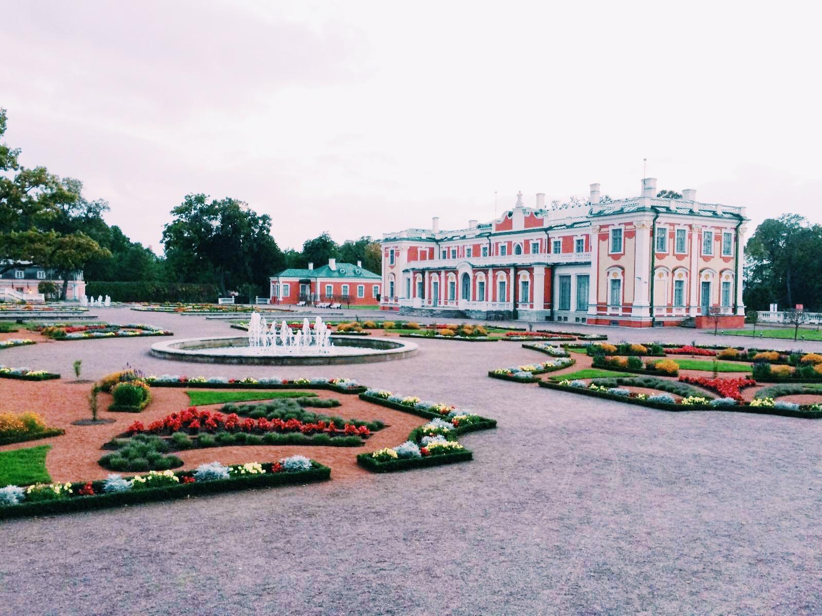 Catherine's Summer Kadriorg Palace Tallinn, Estonia