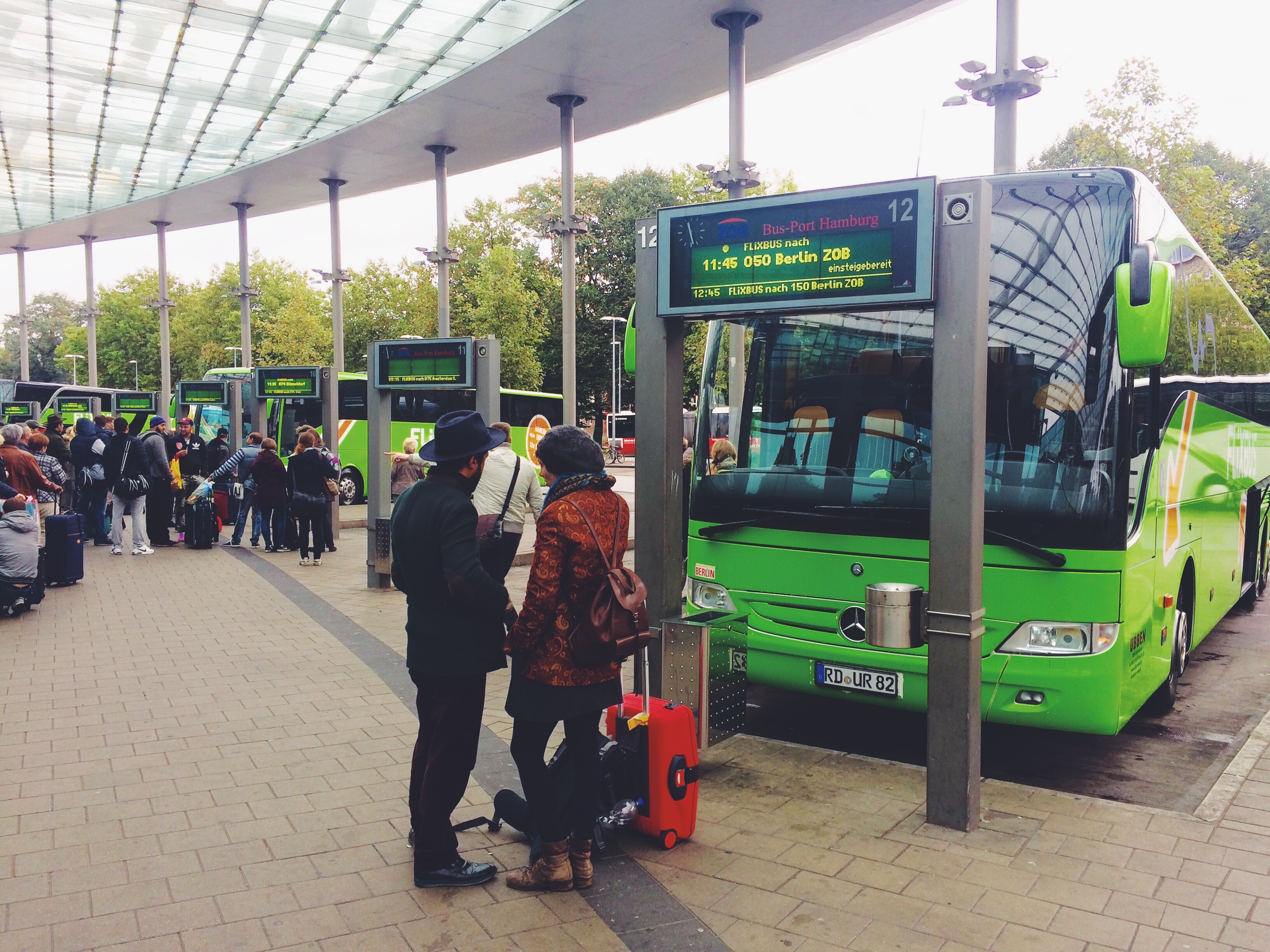 cheap travel by bus in europe