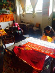 Batik artists