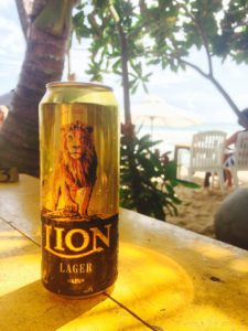 Sri Lankan beer, tasty and refreshing
