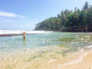 Beach Mirissa, Sri Lanka