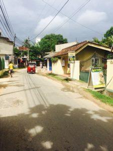 Streets of Unawatuna