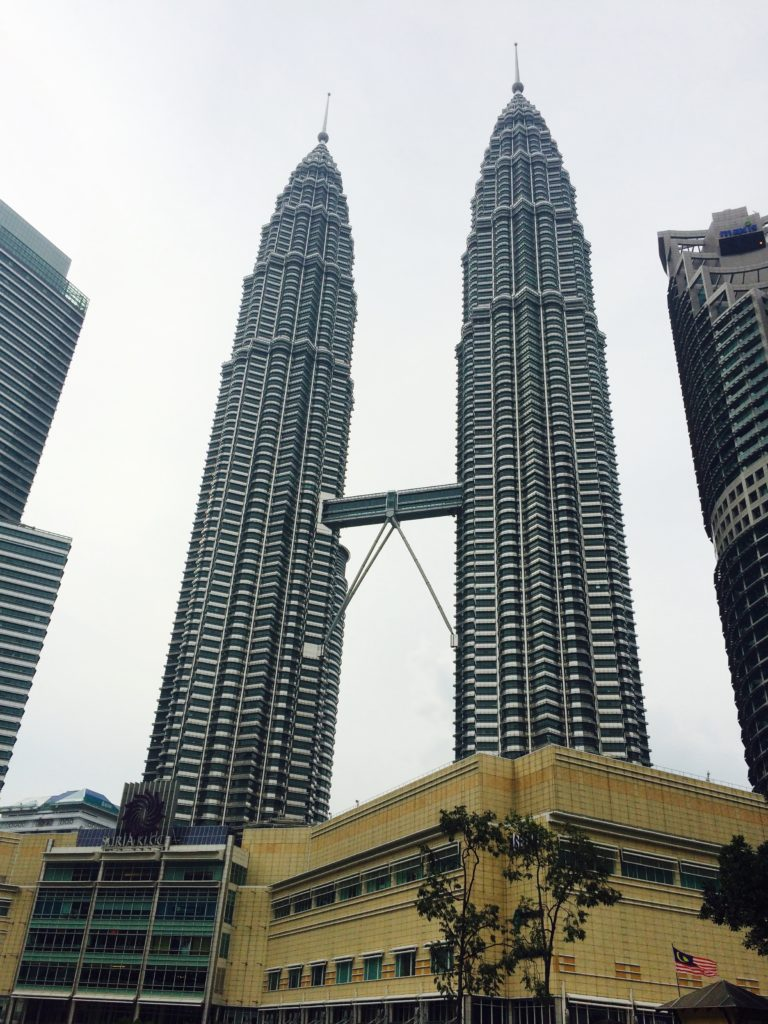 Top tourist attraction in KL: Petronas Twin Towers