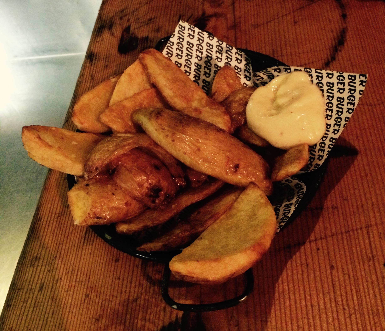 Sides: Huge potatoes