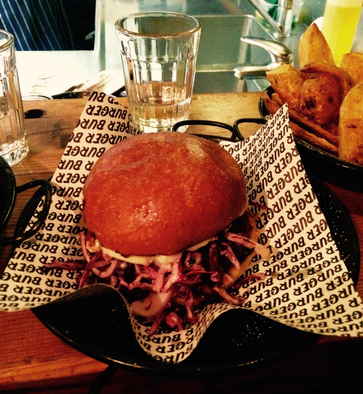 Delicious Pork Burger