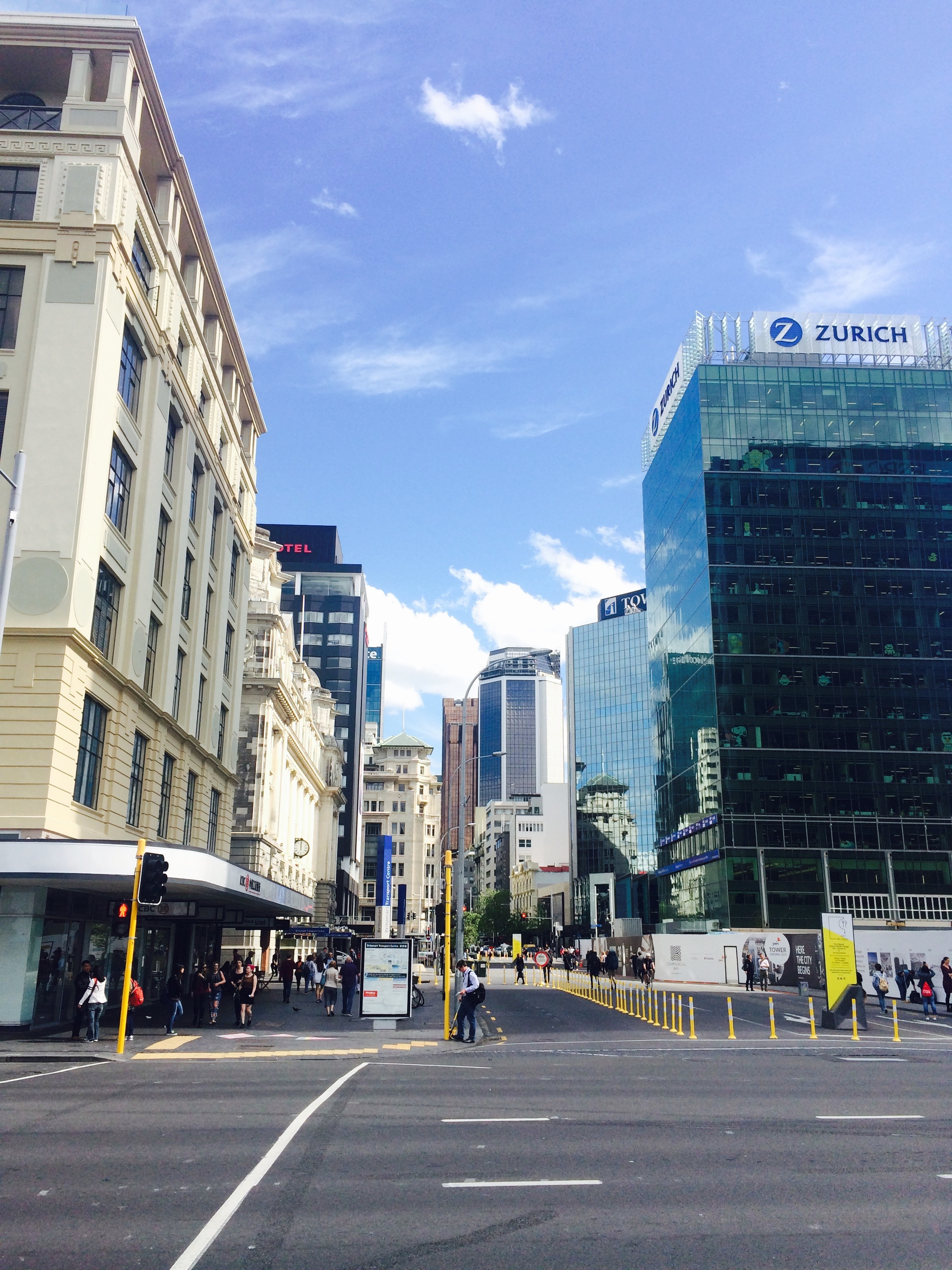 Streets of Auckland CBD