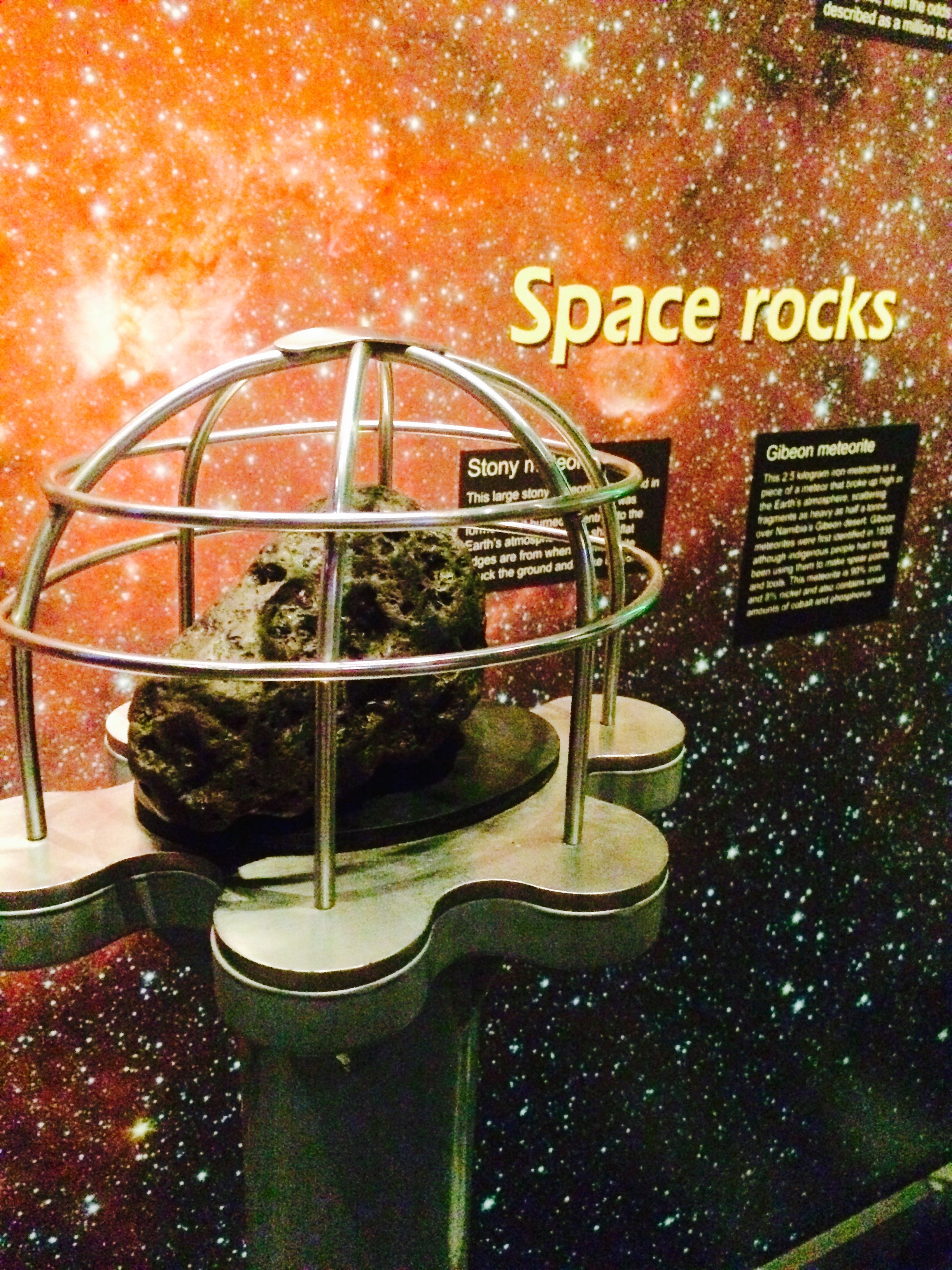 Real space rocks!