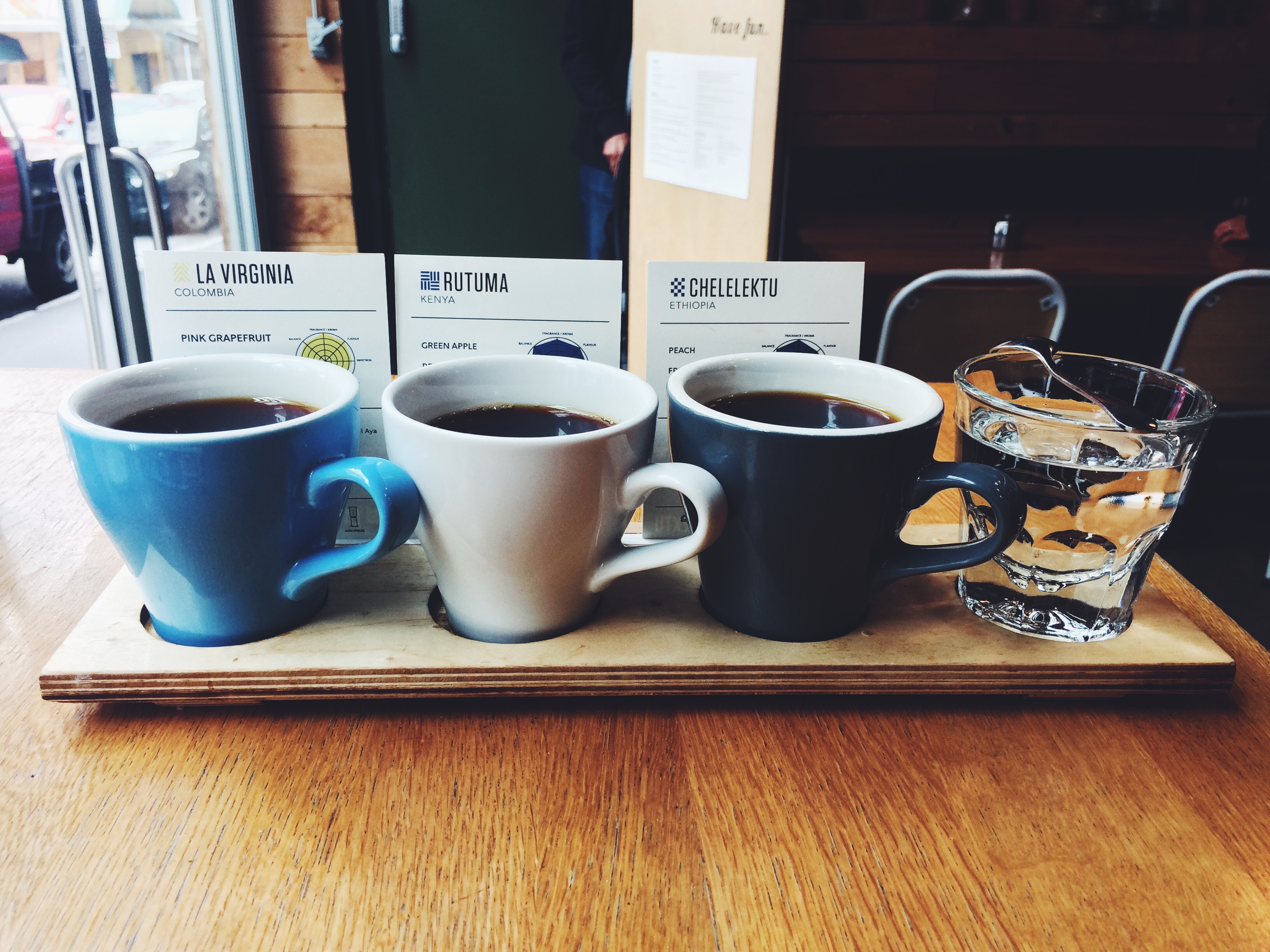 Tasting Flight Coffee