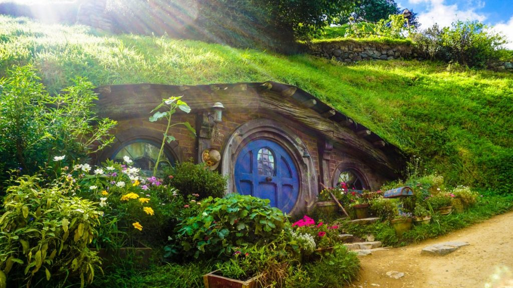 Hobbiton Movie Set, Matamata, New Zealand
