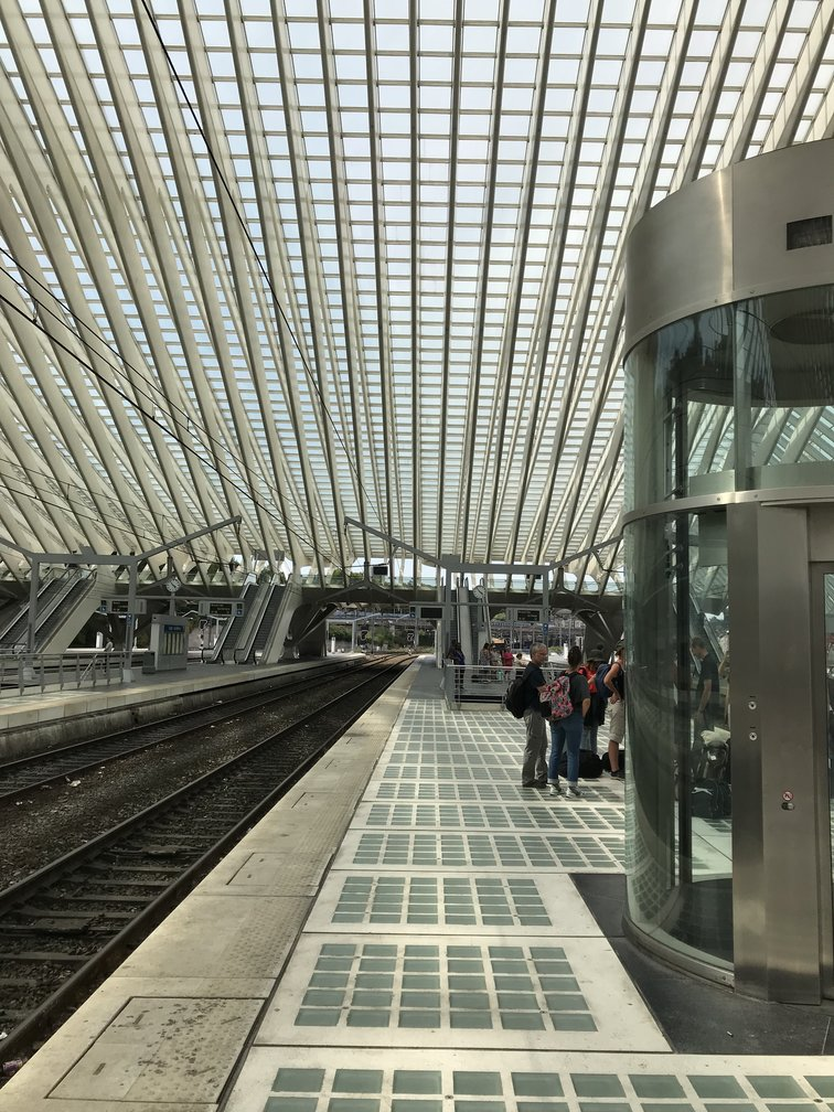 Liege-Guillemins Station, Belgium