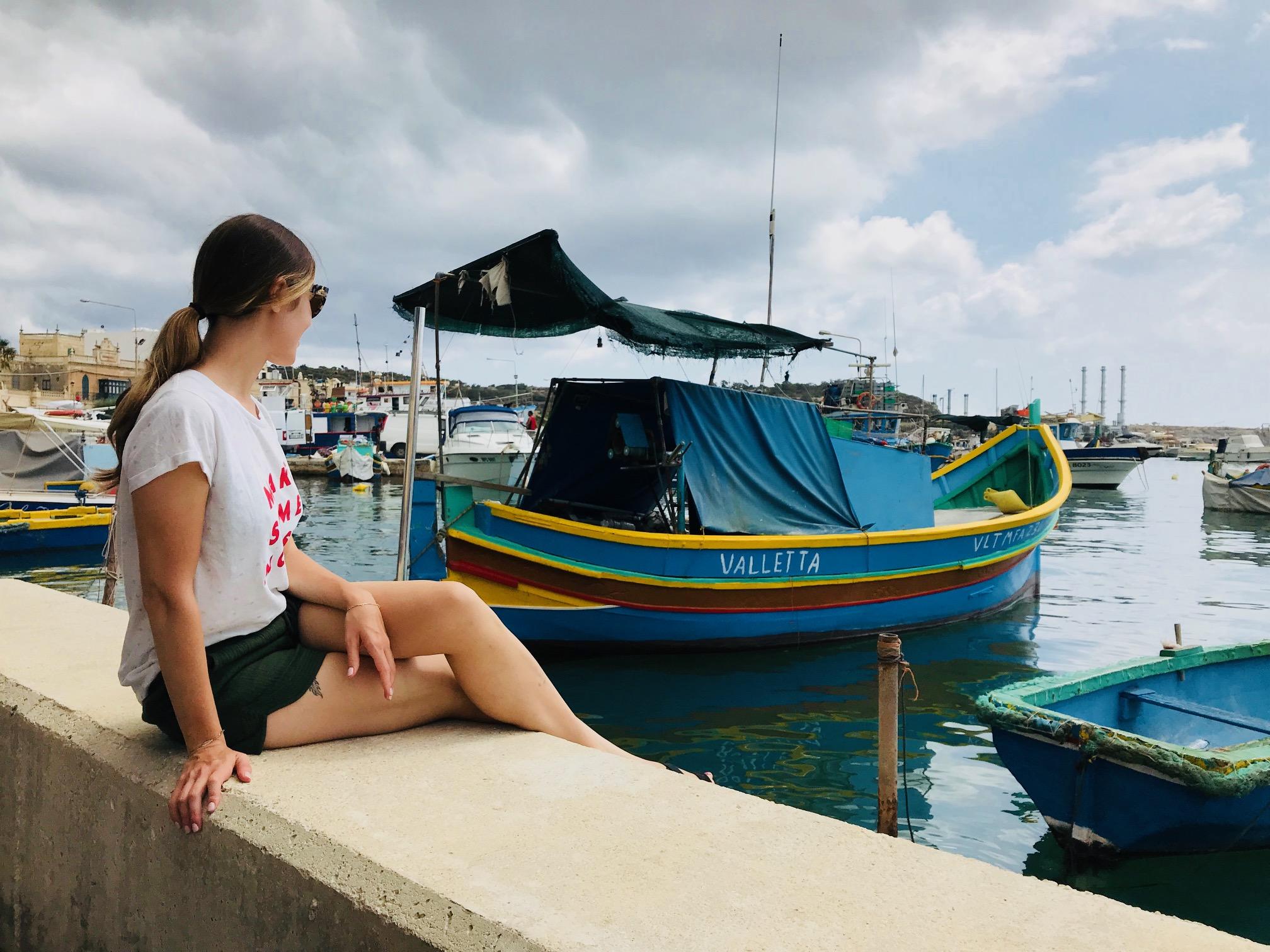 The Most Famous Fishing Village in Malta,Marsaxlokk