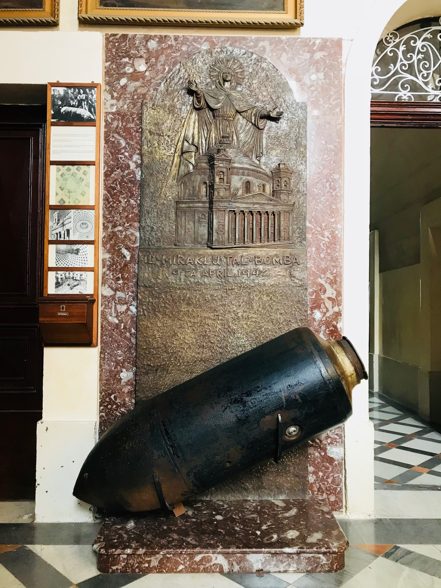 Replica of the Bomb