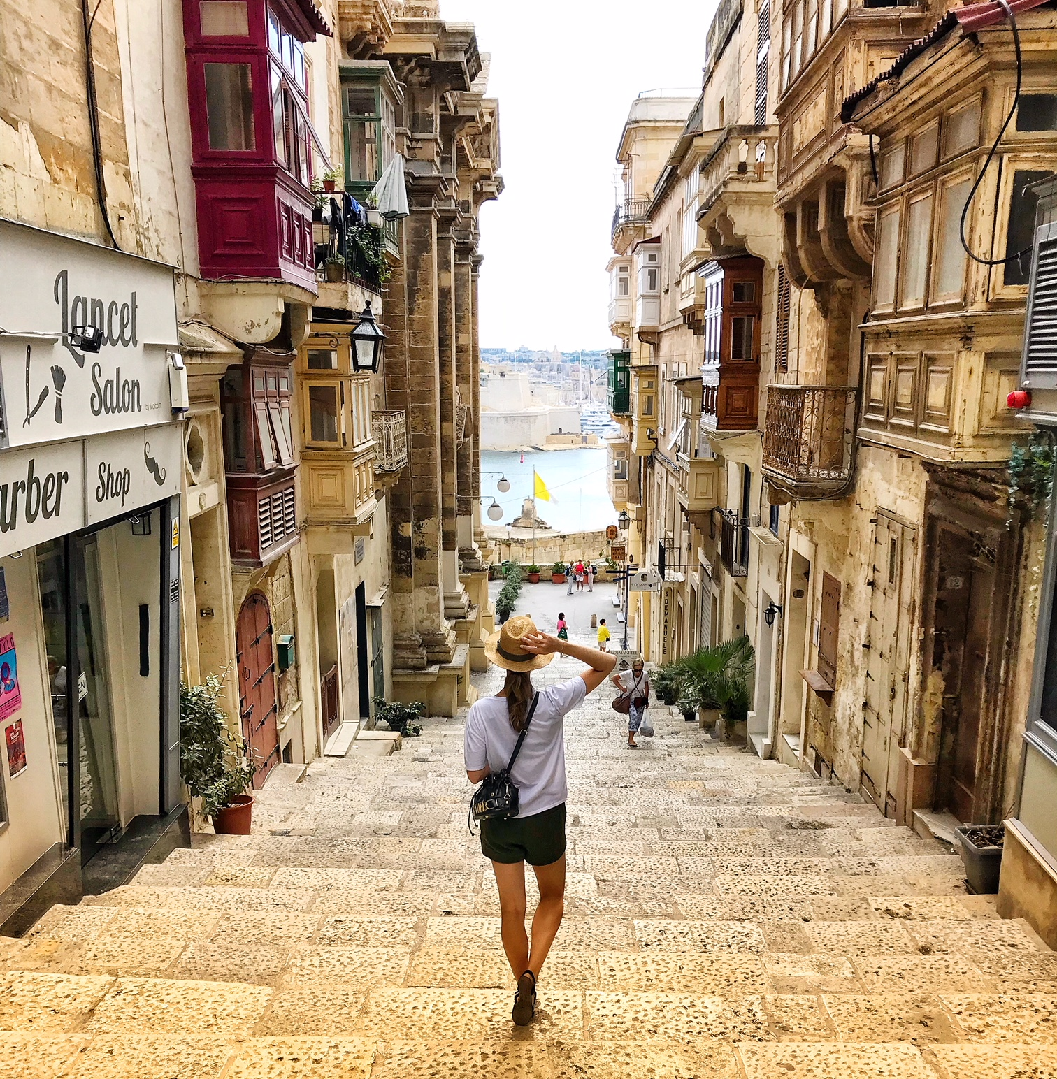Streets of Malta's Capital, Valletta
