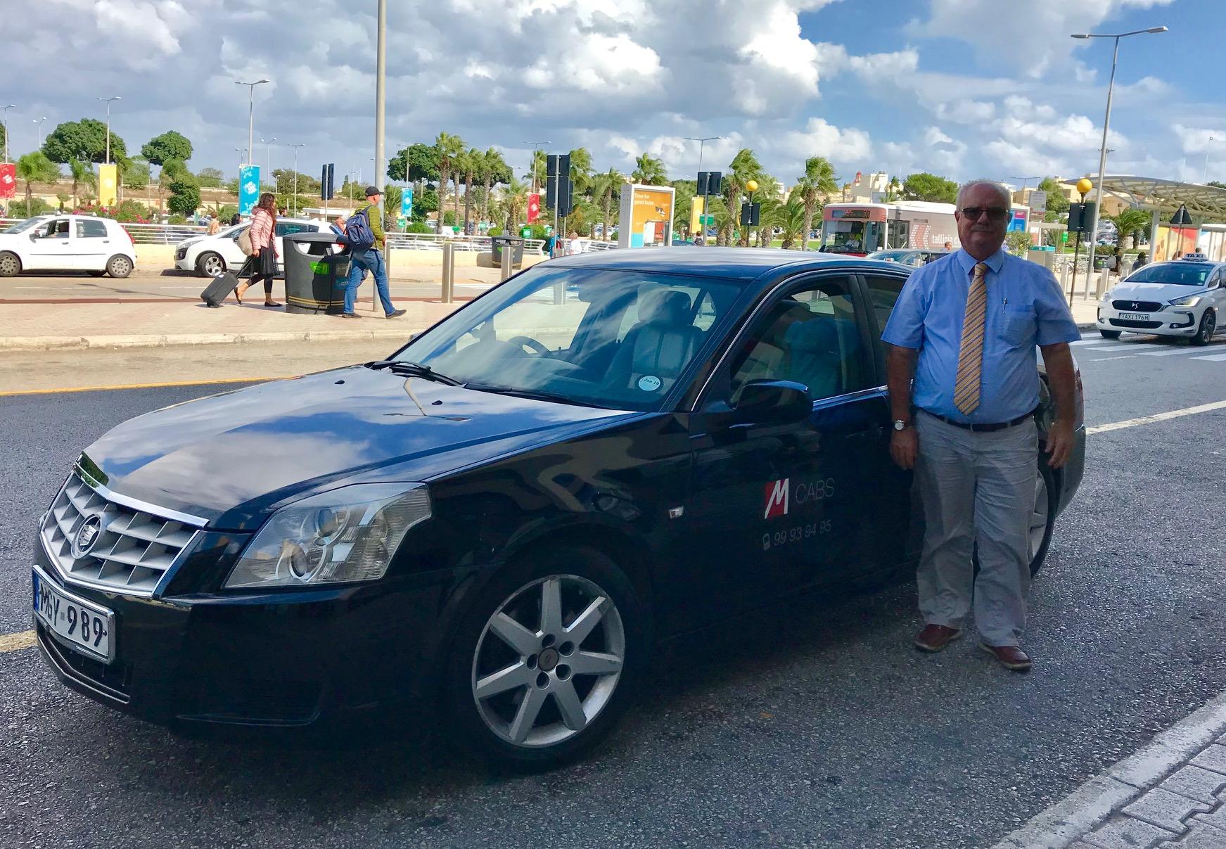MCabs Personal Driver Service in Malta