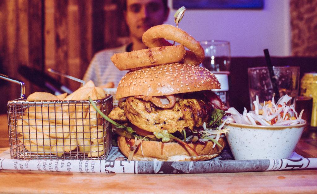 Burger in Harvey - Kitchen & Bar, Maastricht