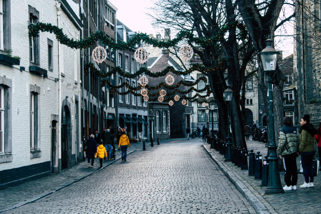 Streets of Maastricht, the Netherlands