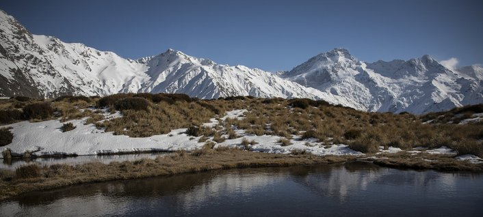 New Zealand South Island Attractions: Aoraki/Mount Cook National Park, New Zealand