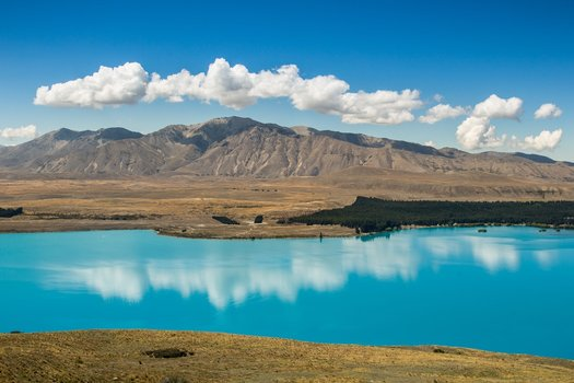Lake Tekapo, New Zealand South Island highlights