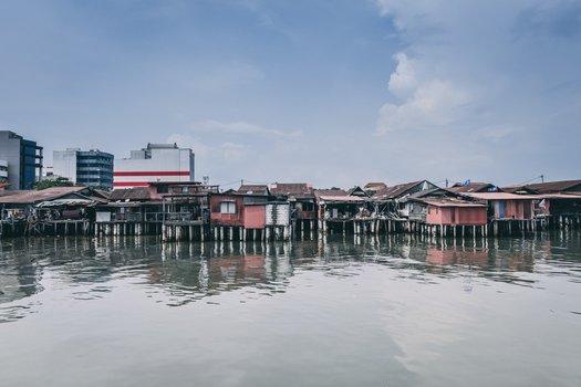 Chew Jetty, Georgetown, Malaysia