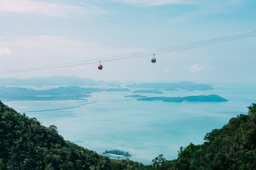 Langkawi Tourist Attractions. Cable Car Ride