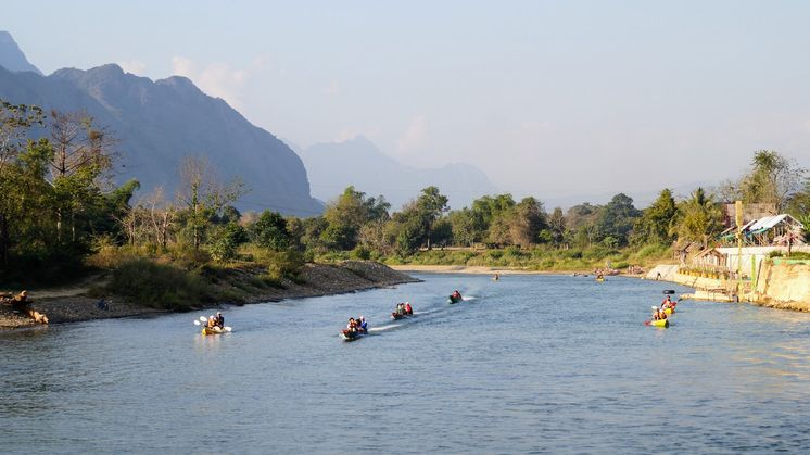 Southeast Asia Backpacking Route, Laos