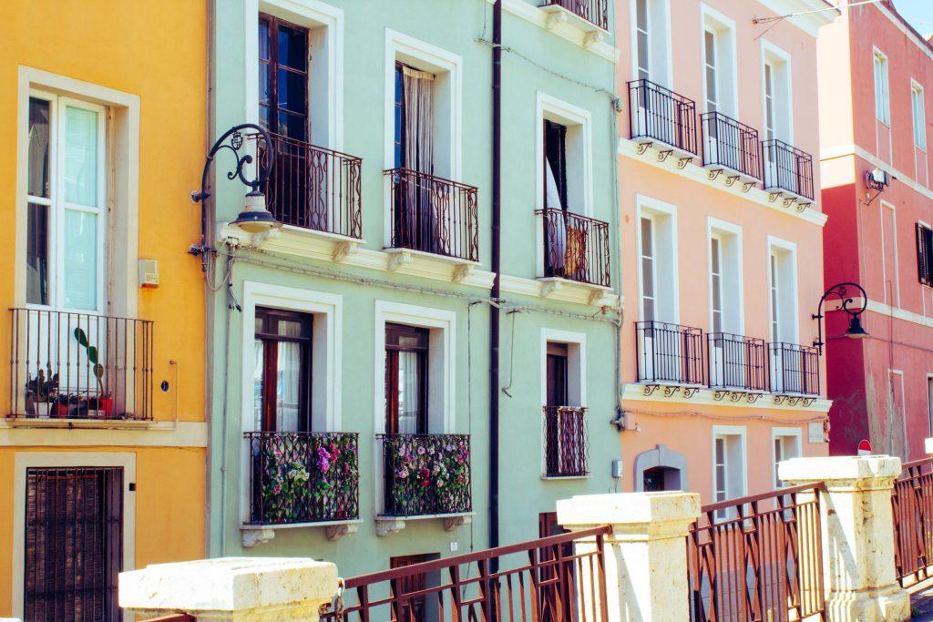 One day in Cagliari, Sardinia