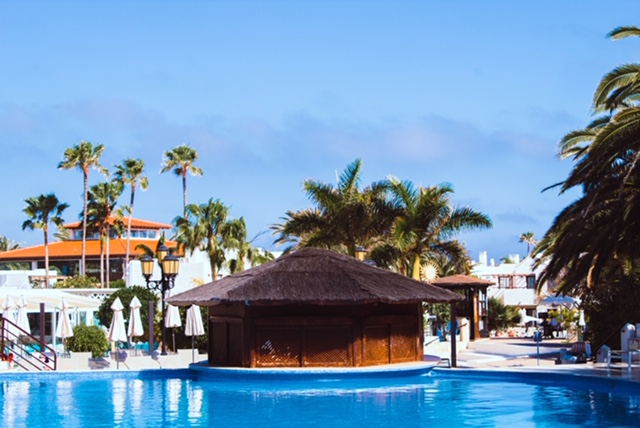 Queit Pool area at Suite Hotel Atlantis Resort, Fuerteventura