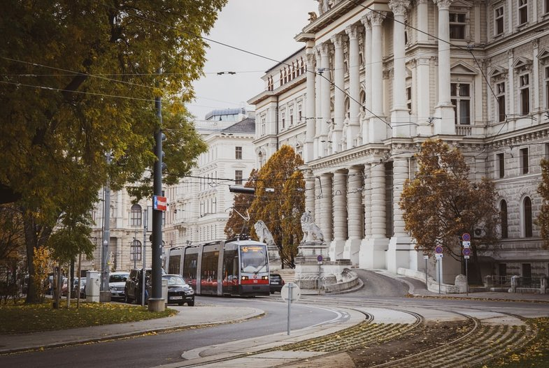 Public-transport-in-Vienna-Austria