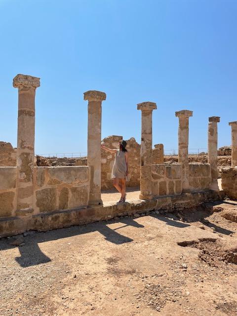 Paphos Archeological Site